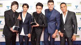 CNCO en los Latin American Music Awards (2016)