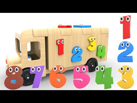 Xxx Mp4 Learn Numbers With Wooden Truck Toy Numbers Videos Collection For Children 3gp Sex
