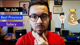 Top 10 Jobs in Canada, High Salary and Best Province Hindi Vlog Part 1