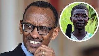 Yaririmbiye KAGAME Paul Indirimbo isekeje cyane nukuri: Irebere iki kiganiro