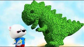 """BOOMi Bear """"T-Rex Park"""" Dinosaur Mini Cartoon by UP Studios"""