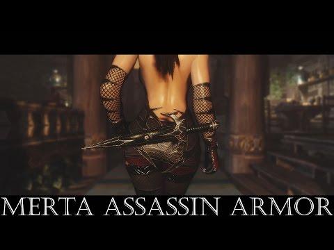 TES V Skyrim Merta Assassin Armor UNPB