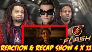THE FLASH Season 4 Episode 11 REACTION & RECAP SHOW!!! (4x11)