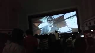 Kabali Teaser Response in Theatre @Theri Movie Show