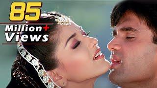 'Kajal Kajal Teri Aankhon Ka' Full Video 4K Song - Sonali Bendre, Sunil Shetty | Sapoot