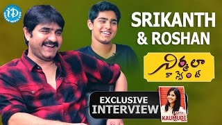 Srikanth & Roshan Exclusive Interview || Talking Movies with iDream #214 || #Nirmalaconvent