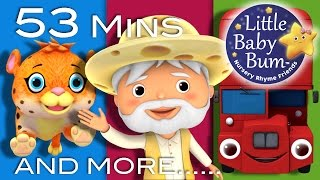 Nursery Rhymes Collection | Volume 7 | 53 Minutes Compilation from LittleBabyBum!