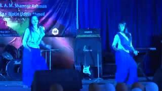 Nisha Lagilo Re by Eva & Raya || Freshers Reception and Farewell 2017