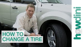 How to change a tire - Change a flat car tire step by step