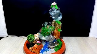 How to make a Beautiful Fountain with glass pitcher / jug