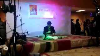 Bangladesh Vedanta society. Guitar solo