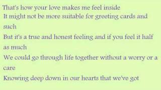 How Your Love Makes Me Feel-Diamond Rio-Lyrics