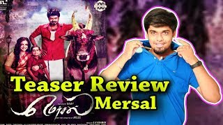 Mersal Teaser Review By Review Raja | Magician Vijay Rocks In Mersal Official Teaser | #Thalapathy