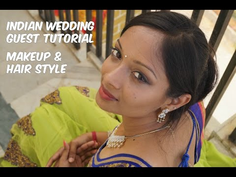 Indian/South Asian Wedding Guest | Makeup & Hairstyle Tutorial ft. My BFF
