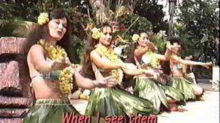 Hula Dancers Perform - Pearly Shells