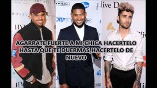 Chris Brown ft. Usher & Zayn - Back To Sleep (Traducido)