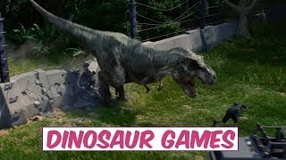 """TOP 3 MIND BLOWING UPCOMING """"DINOSAUR GAMES"""" 2017-2018   PC, PS4, XBOX ONE"""