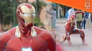 Avengers Infinity War New Look at Iron Man Armor