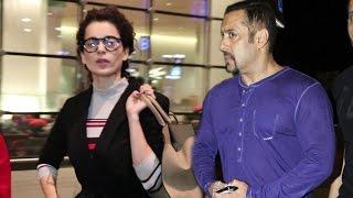 Airport Spotting 31st Aug 2016 | Salman Khan, Kangana Ranaut