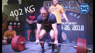 Tom Martin - 2nd Place Wraps 985 Kg/2171.5 Lbs - Boss Of Bosses 5