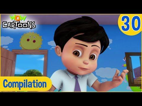Vir The Robot Boy | Hindi Cartoon | Action Cartoons for Kids | Compilation #30 | 3D Cartoons