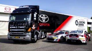 Toyota 86 Racing Series Hino 700 Series Truck Wrap
