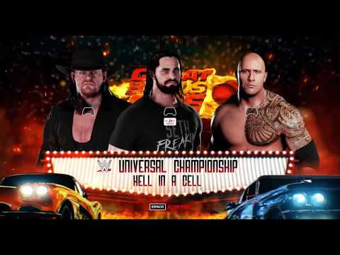 Xxx Mp4 WWS Nation Great Balls Of Fire HIAC Match For UC Seth Rollins Vs The Rock C Vs The Undertaker 3gp Sex