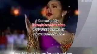 Regine Velasquez  sings for The Philippine Millenium Celebration [ January 1, 2000 ]