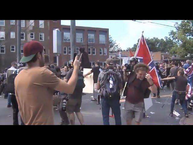 Trump equviocates white supremacists and counter-protesters