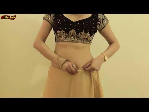 Xxx Mp4 How To Wear Saree To Look Like Proper Lehenga Style Wedding Saree Drape Style 3gp Sex
