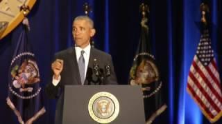 Watch | President Barack Obama
