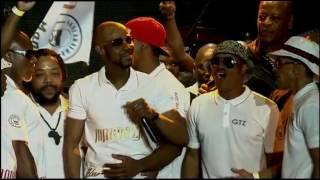 Mandoza thanks SA for prayers at SABC Thank You Concert
