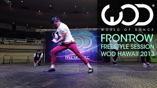 Brian Puspos | Lando Wilkins | JP Goldstein | JD Mcelroy | FRONTROW | #WODHI '13 Freestyle Session