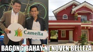 Noven Belleza, Bagong bahay mula sa Camella Homes