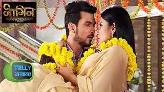 (Video) Shivanya Falls In Ritik's Arms - Romantic Scene | Naagin | Colors