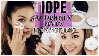 First Impressions ♥ IOPE Air Cushion Foundation XP N23 Review