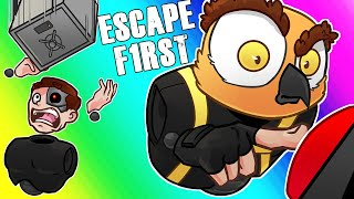 Escape First Funny Moments - Red Buttons and Moo