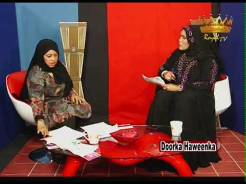 Barnamij Program Doorka Haweenka Royal TV 17 06 12