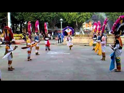 Danza de la Pluma de Zaachila Oaxaca Sabado 28 de Enero 2012 Explanada del Palacio Muni.