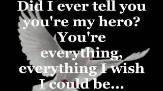 WIND BENEATH MY WINGS (Lyrics) - BETTE MIDLER