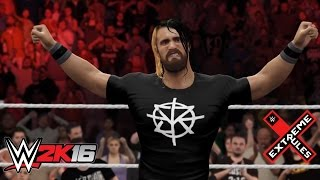 WWE 2K16 Extreme Rules 2016 Seth Rollins RETURNS!!! (Updated Attire) -PS4