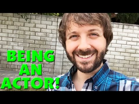 What's It Like Being An Actor? - Day In My Life!