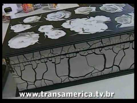 Tv Transamérica Caixa De Maquiagem