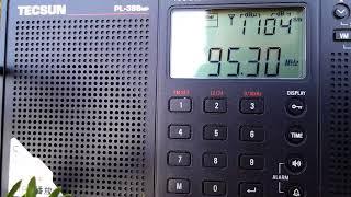 95.3МГц БНР программа Христо Ботев (Болгария. Солнечный Берег, 10КВт передатчик!)