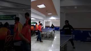 Persiapan tanding Titi Breinholt_table tennis tournament 2018