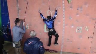 Соревнования по скалолазанию 27.11.16