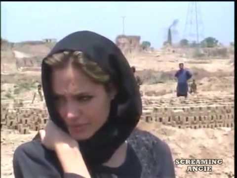 Angelina Jolie visit in Pakistan