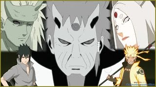 Kaguya vs  Hagoromo,Hamura,Naruto and Sasuke AMV HD Кагуя против Хагоромо, Хамуры, Наруто и Саске