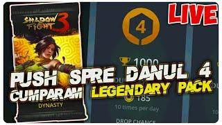 Cumparam Legendary Pack + Push Spre danul 4    Shadow Fight 3 [LIVE#39]
