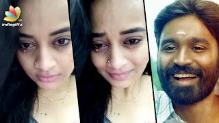 Dhanush makes Malayali actress Suja Varunee cry | Hot Tamil Cinema News
